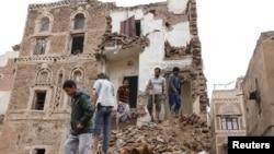 Dîmeneke ji şerê Yemenê