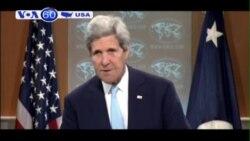 Ngoại trưởng John Kerry đang công du ở Trung Đông