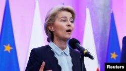 우르줄라 폰데어라이엔 EU 집행위원장.