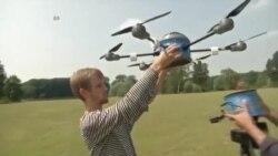 Dron za čišćenje minskih polja