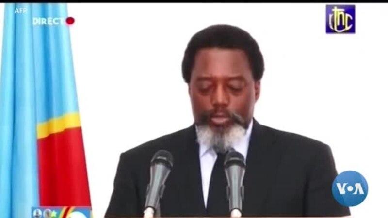 Joseph Kabila félicite le nouveau président-élu