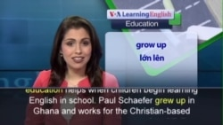 Anh ngữ đặc biệt: Learning to Read in Safaliba Helps Kids Learn English p2 (VOA)