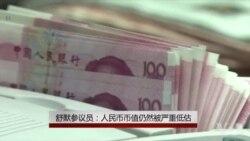 舒默参议员:人民币币值仍然被严重低估