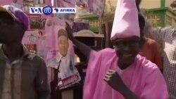 VOA60 AFIRKA: NIGER Magoya Bayan Shugaban Mahamadu Isufu da Na Hama Amadou Suna Yakin Neman Zabe A Titunan Yamai, Fabrairu 17, 2016