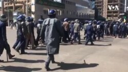 Zimbabwe Police Converge on Capital, Quell MDC Demonstration