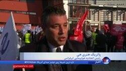 اعتصاب هزاران کارمند شرکت هواپیمایی ایرفرانس به دستمزد پائین