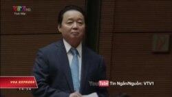 Bộ trưởng TN&MT kêu gọi QH ngăn phát triển kinh tế xâm hại môi trường