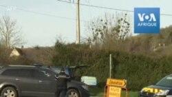 France : les forces de l'ordre détournent le trafic routier avant l'arrivée des rapatriés de Wuhan