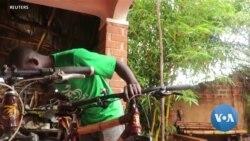 Ugandan Entrepreneur Builds Bikes from Bamboo