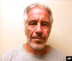 Jeffrey Epstein, foto del registro de delincuentes sexuales del estado de Nueva York. Marzo 28, 2017.