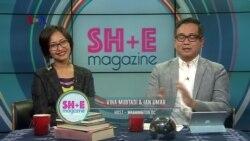 TV SHOW Perempuan SH+E Magazine: San Diego Comic Con, Kasyfi Kalyasyena & Celestine Wenardy (1)