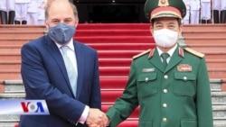 Bộ trưởng Quốc phòng Anh thăm Việt Nam, bàn về an ninh hàng hải