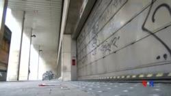 2015-11-24 美國之音視頻新聞: 布魯塞爾學校與地鐵繼續關閉