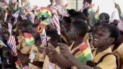 ԱՄՆ-ի առաջին տիկինն այցելել է Գանա