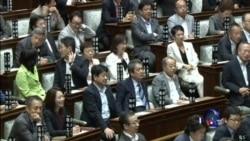 日本政府努力推动安保法通过参议院