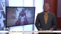 La page des sports du 9 avril avec Yacouba Ouedraogo