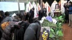 许良英葬礼在京举行 众多异议人士聚表哀思