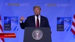 Trump: NATO đồng ý tăng chi tiêu quân sự