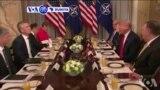 VOA60 Duniya: A Taron Koli Na Kungiyar NATO A Brussels, Shugaba Donald Trump Ya Soki Kasar Jamus