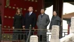 တ႐ုတ္ႏိုင္ငံေရာက္ အေမရိကန္သမၼတ Donald Trump