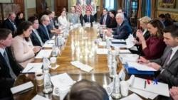 2019-01-06 美國之音視頻新聞: 白宮與國會星期日再次商討結束政府部分關閉