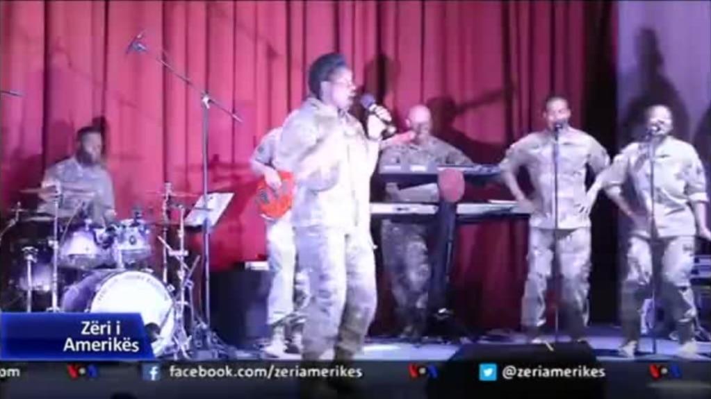 Billedresultat for Orkestra e ushtrisë amerikane, koncert në Ulqin