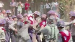 Myanmar Students clashes