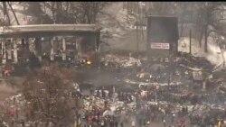 2014-01-29 美國之音視頻新聞: 烏克蘭國會討論特赦被捕抗議者
