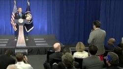 奥巴马:气变关乎安全 必须拿出行动