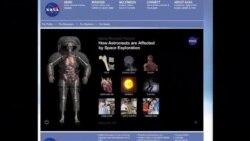سفر های فضایی ناسا :فرصتی برای مطالعات پزشکی
