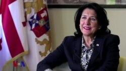 ინტერვიუ საქართველოს პრეზიდენტ სალომე ზურაბიშვილთან