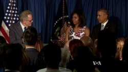 Obama Speaks to Embassy Staff in Havana