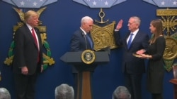 Swearing-in Ceremony for Defense Secretary Mattis