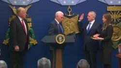 Swearing-in Ceremony for Defense Secretary Mattis