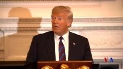 特朗普打破沉默公開感謝麥凱恩對美國的貢獻