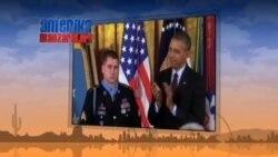 Amerika urush qahramonlarini taqdirlamoqda - Medal of Honor