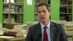 瓜伊多呼籲國際社會支持委內瑞拉的民主過渡 (粵語)