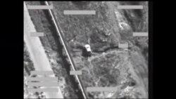 ادامه حملات هوایی ائتلاف به رهبری آمریکا علیه مواضع داعش