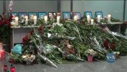 В «Борисполі» облаштували меморіал пам'яті загиблим. Коментарі родичів і друзів загиблих. Відео