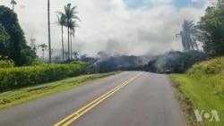 美地质局:夏威夷火山喷发可能加剧