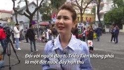 Hà Nội: Người đào tị Triều Tiên mơ về hoà bình
