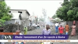 Un second vaccin contre Ebola en RDC
