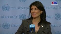ABD İran'daki Gelişmeleri BM'ye Taşıyor
