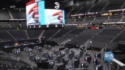 Як стадіони у США перетворюються на виборчі дільниці і чому американці поспішають віддати свій голос? Відео
