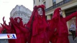 Biểu tình phản đối Tuần lễ Thời trang London