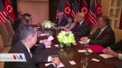 کۆبوونەوە چاوەڕوانکراوەکەی نێوان سەرۆک ترامپ و ڕێبەری کۆریای باکور