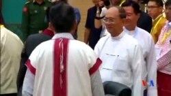 2015-09-09 美國之音視頻新聞:緬甸總統會見反政府組織談判代表