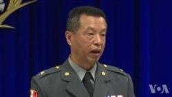 发言人陈中吉称台湾军队绝不示弱原声视频