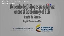 Gobierno colombiano habla acerca del proceso de paz con el ELN [Parte 1]