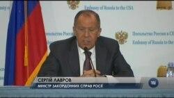 Cанкції не проблеми Москви - Сергій Лавров на прес-конференції у посольстві Росії. Відео